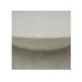 Livorno Outdoor Round Side Table White Speckle