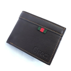 Men's Wallet with Coins pocket - Brown