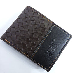 Men's Wallet with Coins pocket - Black & Brown