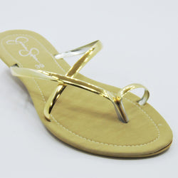 Women's Gold Strap Flat - Jessica Simpson