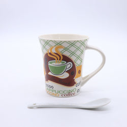Coffeeholic Cappuccino Printed Coffee Mug 03