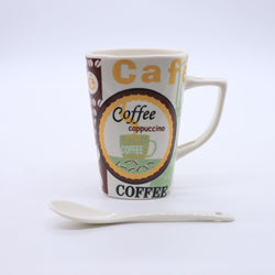 V Shaped Coffee Craze Mug- Crayola