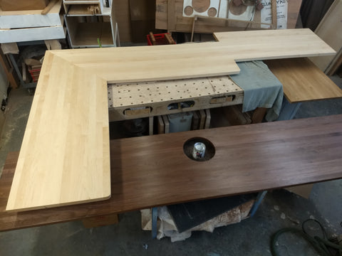 Wooden Kitchen Countertops for the San Francisco Bay Area - Butcher Blocks