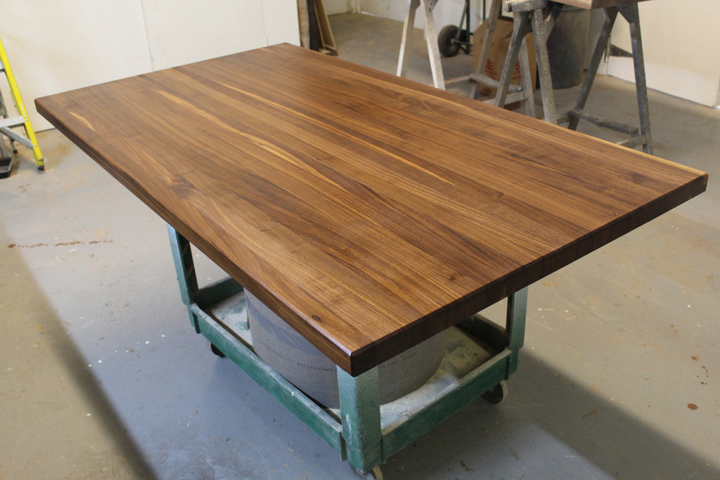 Long Grain Walnut Countertop