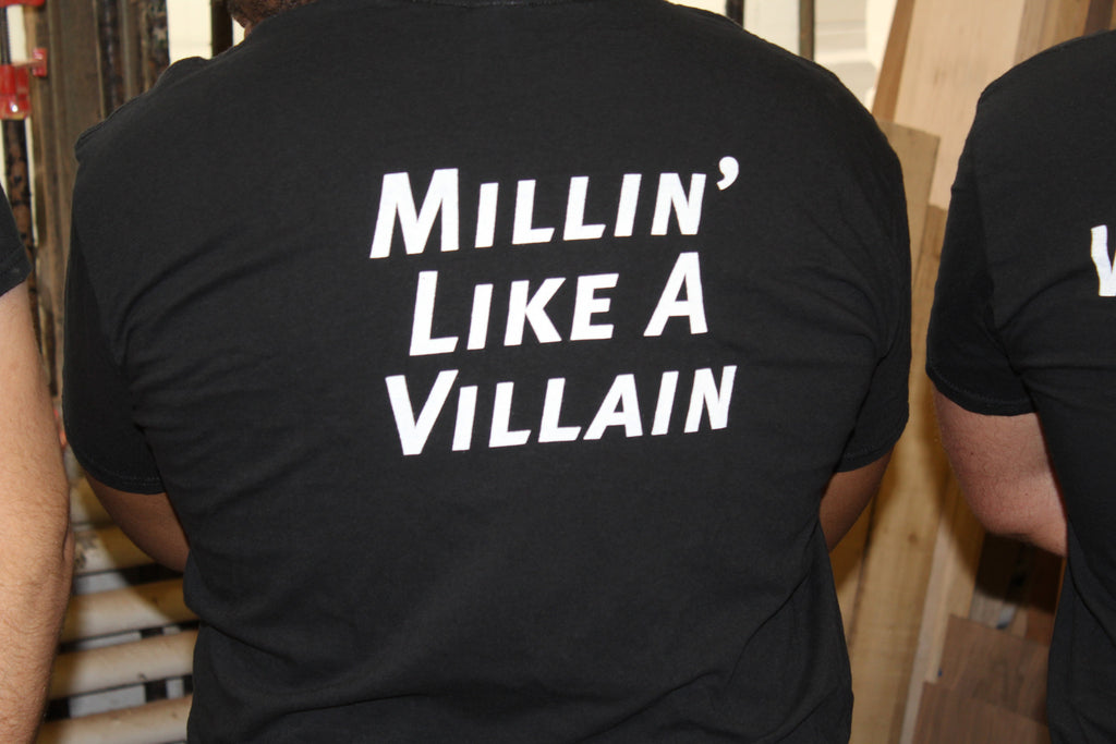 """Millin' Like A Villian"" T-Shirts"