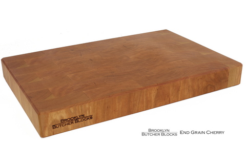 16x20x1.75 End Grain Cherry Butcher Block