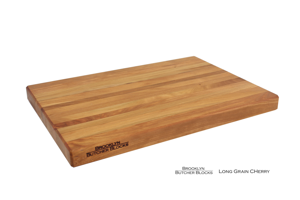 long grain cherry cutting board images 1 2