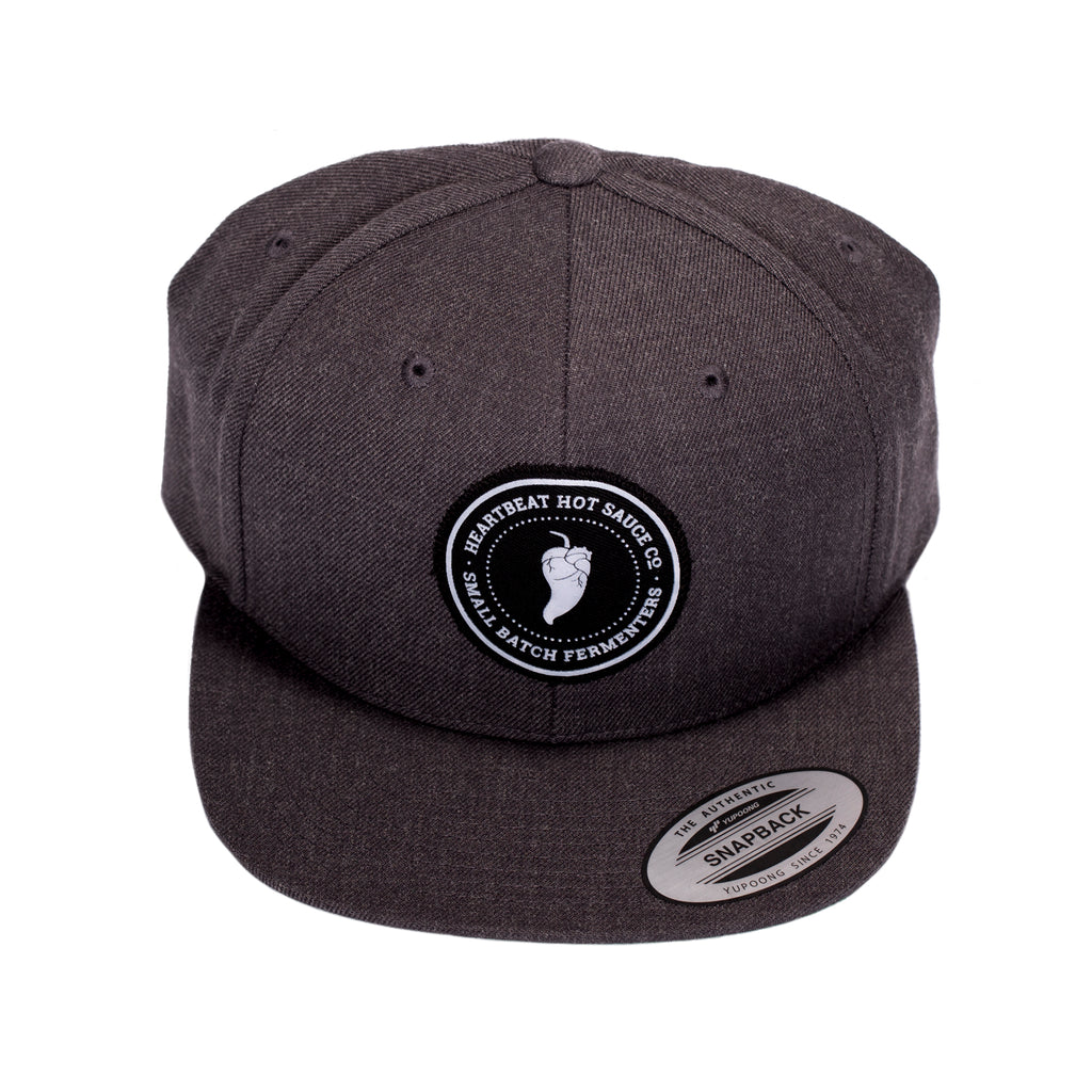 Patch Snapback (Dark Heather Grey)