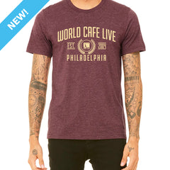 World Cafe Live Tee - Classic-