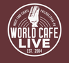 NEW! World Cafe Live- LOGO TEE