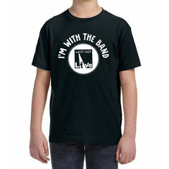"World Cafe Live ""I'm With The Band"" Youth Tee"