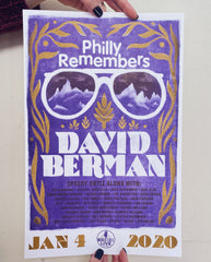 Philly Remembers David Berman Risograph Print