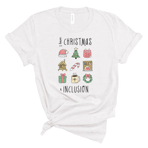 I Love Christmas & Inclusion