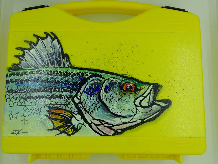 Ryan Keene hand painted fly boxes