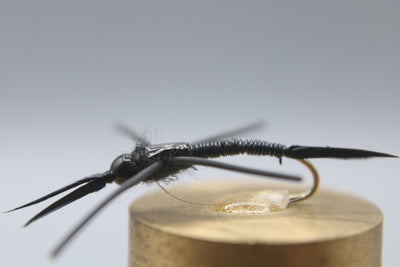 Tungsten Bead Head Wire Body Rubber Leg Stonefly Nymph