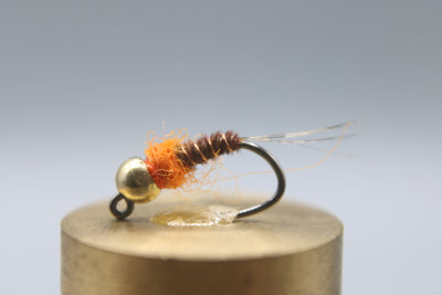 Tungsten Bead Barbless Jig Frenchie