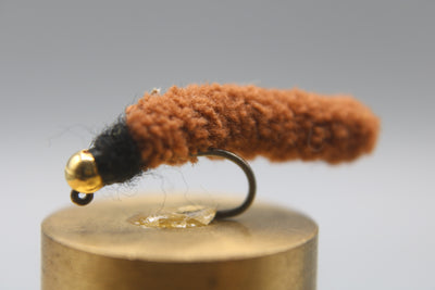Tungsten Bead Barbless Jig Mop Fly