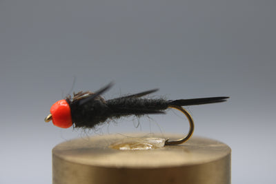Bead Head Stonefly Nymph Hot Head Black