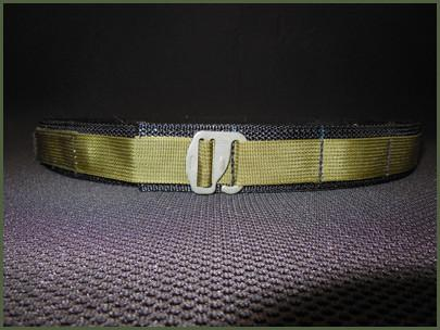 "1.5"" EDC Belts - Low Profile, Plastic and No Buckle"