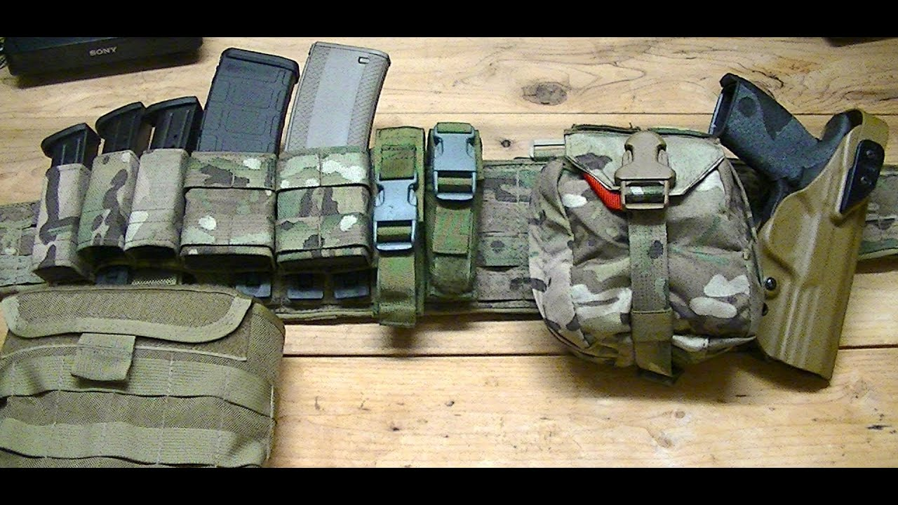 "2"" Duty Belts and War Belts"