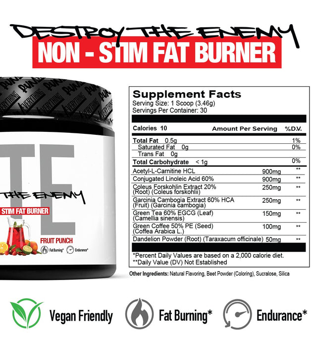REL DTE  Non Stim Fat Burner