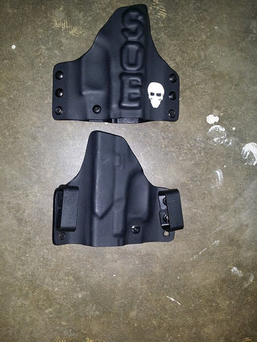 SOE/Green Force Tactical Glock 19/17 Outside the waistband holster