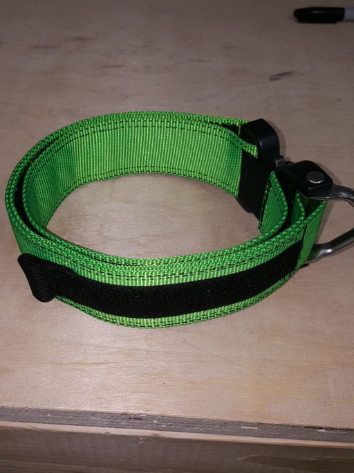 "1.75"" d-ring Cobra Dog Collar"