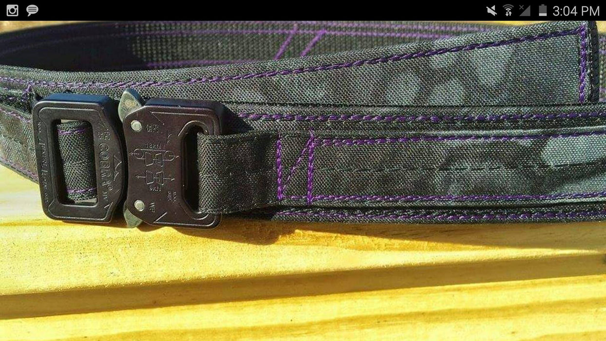 Belt Contrasting Color up-charge