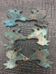 Patina Copper Cocklet Bottle Opener