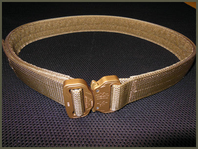 "1.5"" Rigid Cobra Duty Belt With Velcro Liner - Sizes 26"" to 60"""