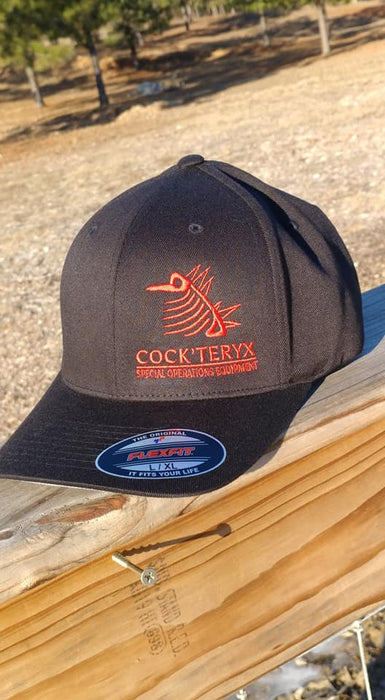 Cock'teryk Flexfit hat blk/red