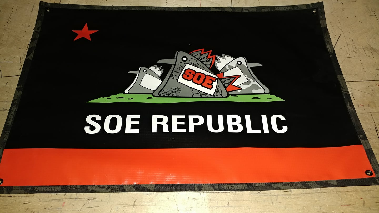 Cock republic banners