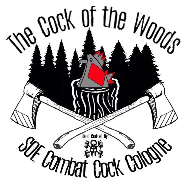 Cock of the Woods Roll On Cologne 5ml