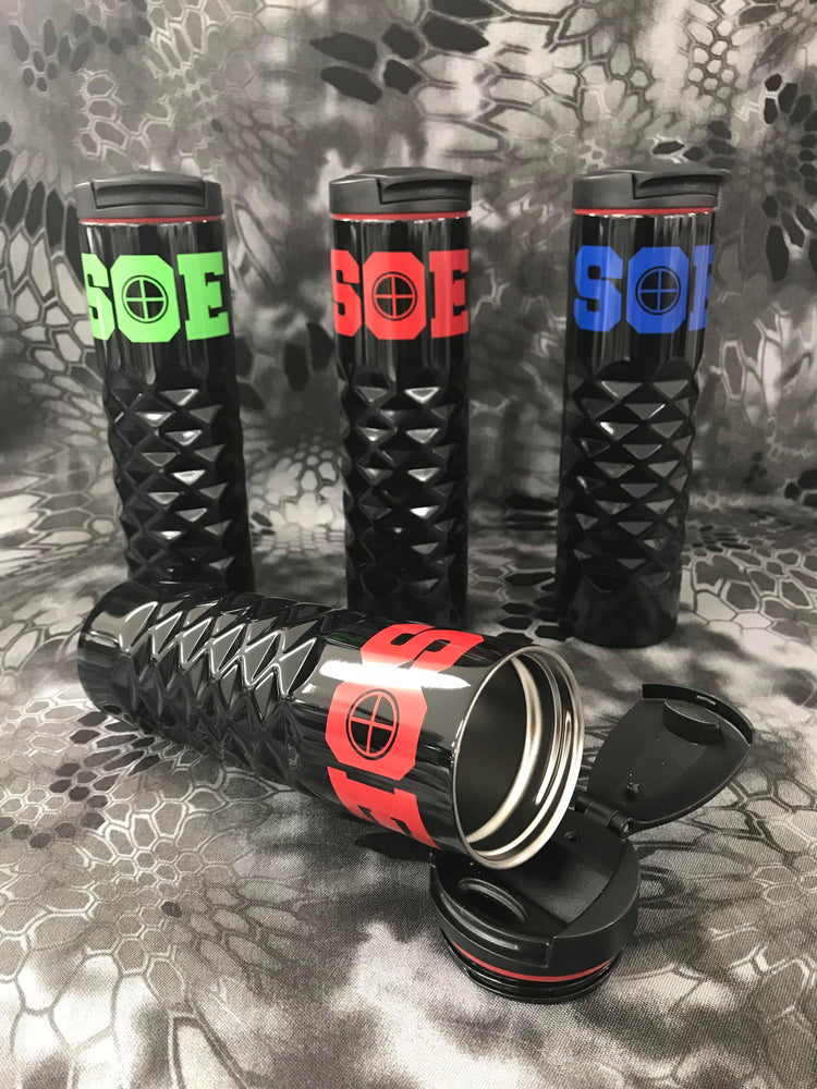 SOE Crosshairs Insulated 16 oz Tumbler