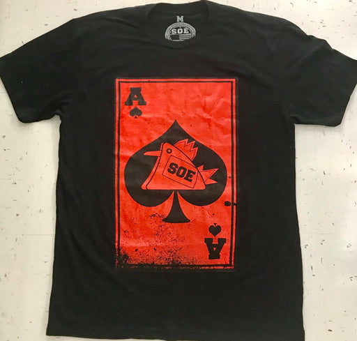 Red Death Card T-Shirt