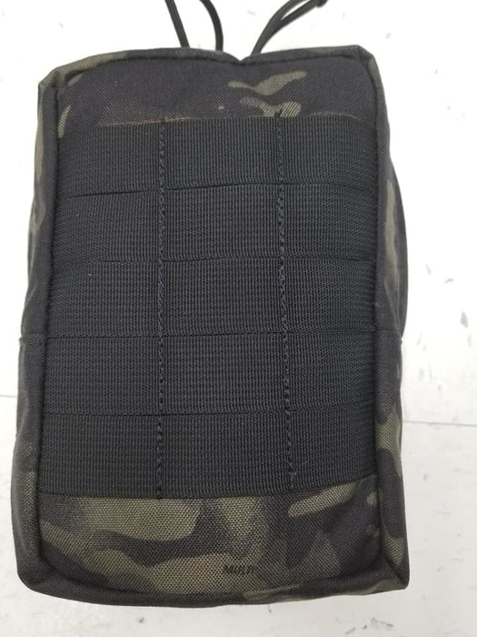 3 column zippered utility pouch