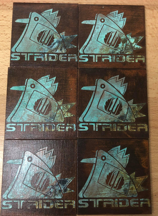 Limited Edition Rusted Strider Cock Patch