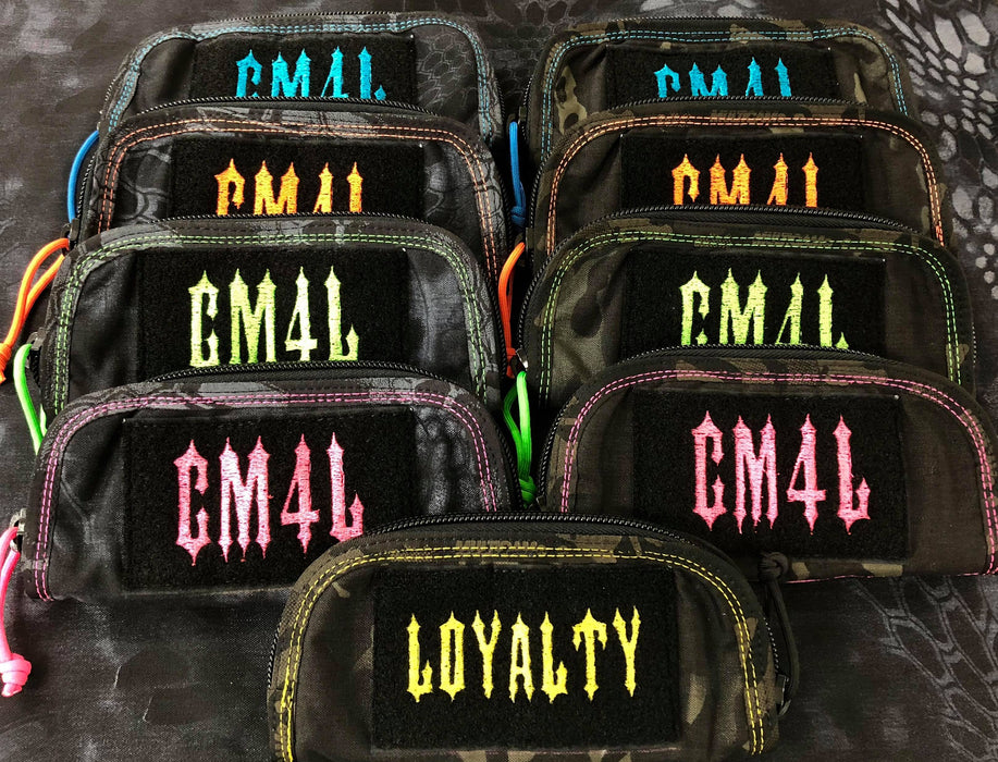 Limited Edition CM4L/ Loyalty Zippered Knife Pouches