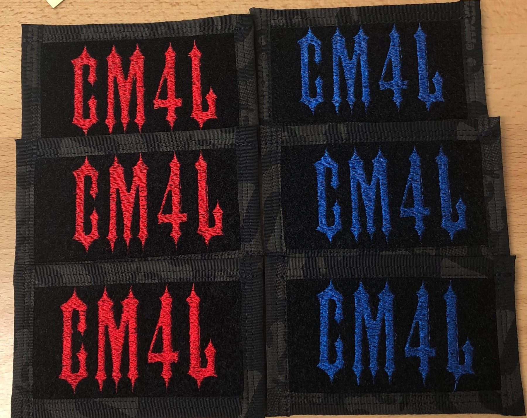 CM4L Embroidered Patch