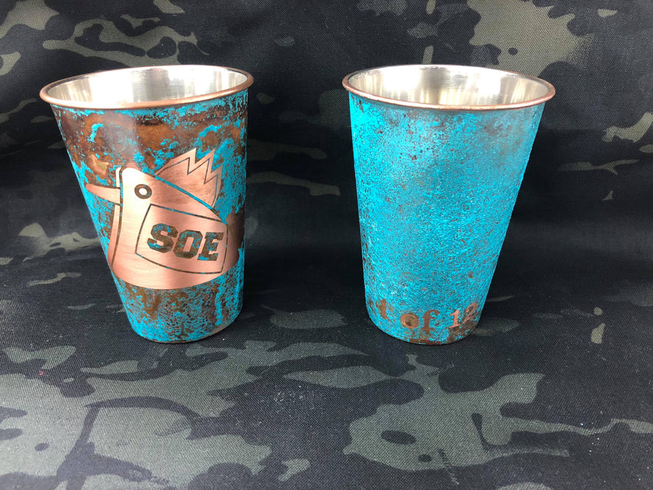 LIMITED!!!!!!Cock Copper Mugs, Cock Copper Pints and Cock'teryx glasses