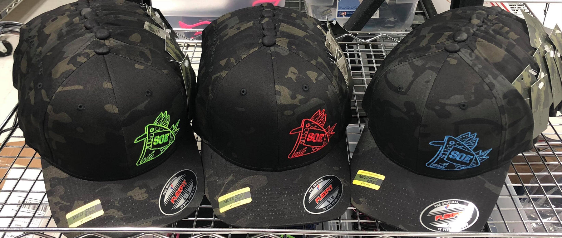 Multicam Black Flexfit Cock Hats