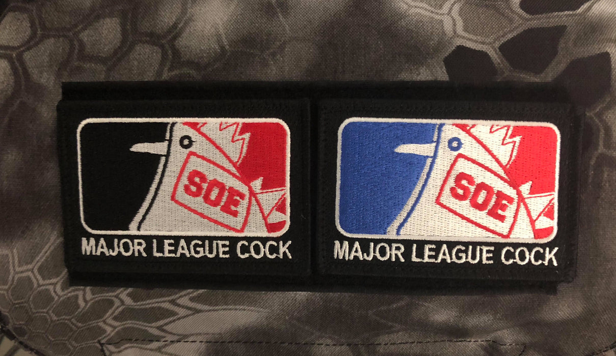 Major League Cock Patch