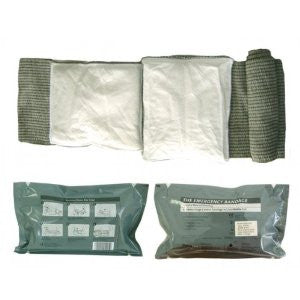 Israeli Bandage Battle Dressing, First Aid Compression 6 Inch Bandage