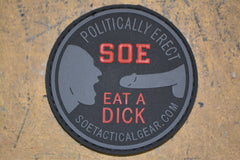 Eat A Dick Tech PVC Patch/Coaster