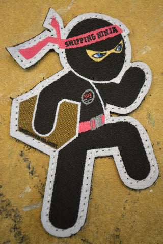 Shipping ninja patch-----OUT OF STOCK-----DO NOT ORDER