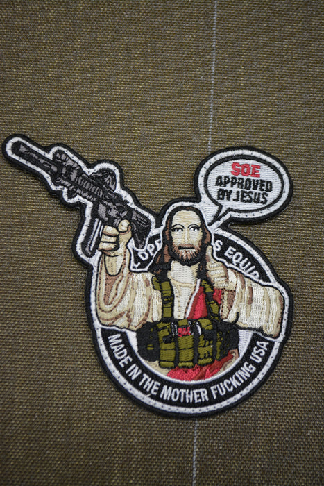 Jesus approves Patch
