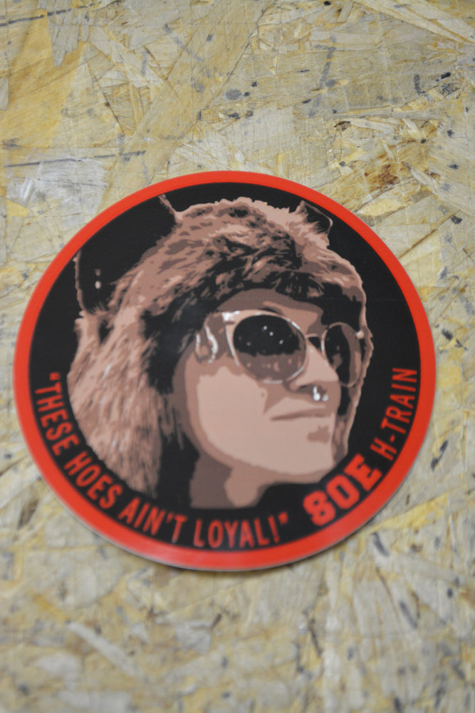 "Heather ""Hoes ain't loyal"" patch"