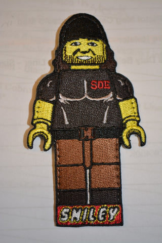 Smiley Lego man patch