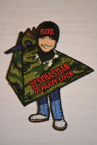 "Sebastian ""Party Cock"" Patch"