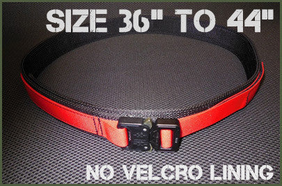 "Gray Base EDC Belt Without Velcro Lining - Size 36"" to 44"""